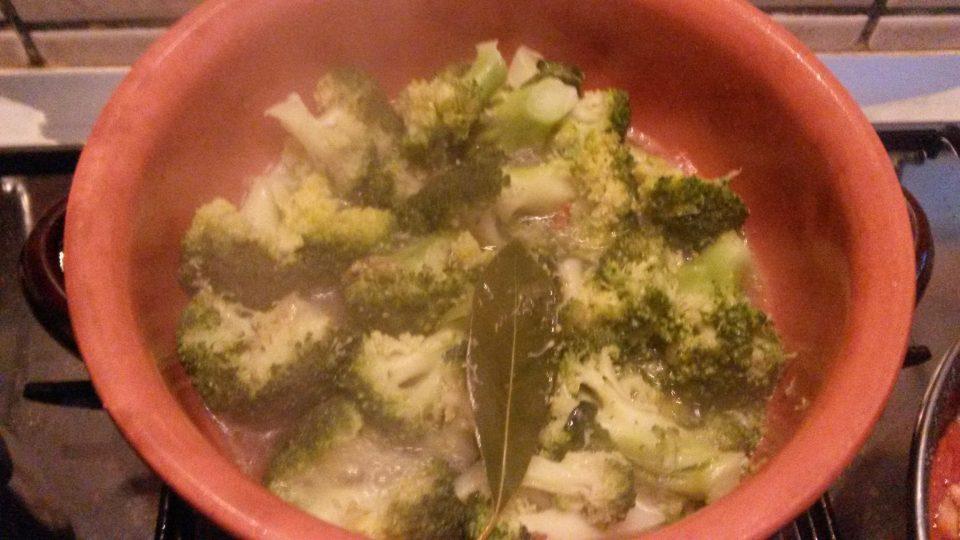 Broccoli siciliani affogati