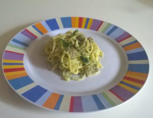 Tagliolini broccoli e salsiccia