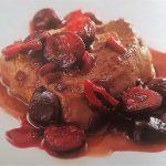 Filetto di manzo alle ciliegie