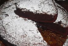 torta di cioccolata all arancia