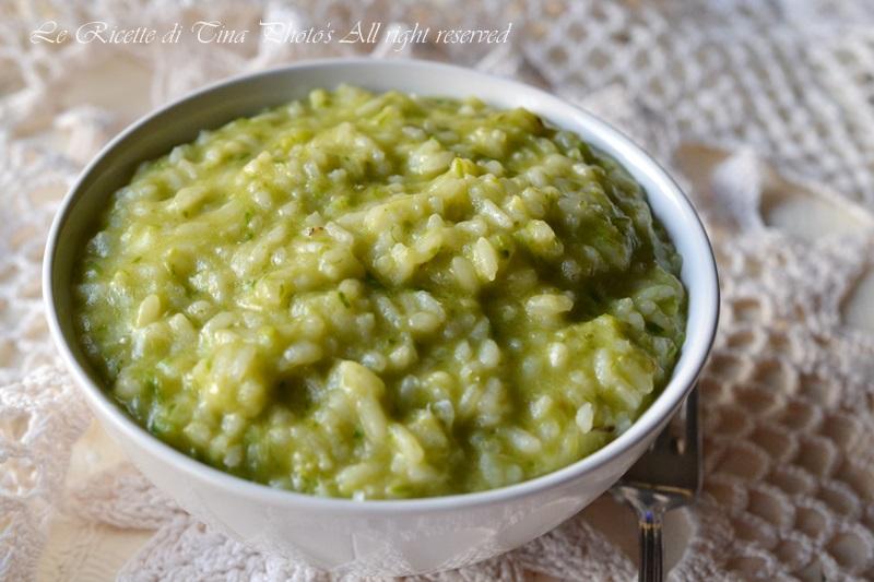 risotto con asparagi e scamorza,risotto con asparagi,asparagi,risotto,le ricette di tina,