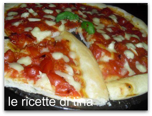 pizza margherita con la mdp