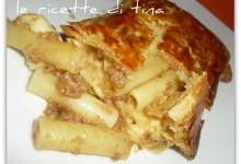 Pasta in sfoglia al forno