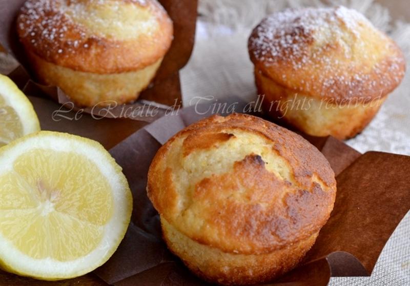 Favoloso Muffin al limone IB23