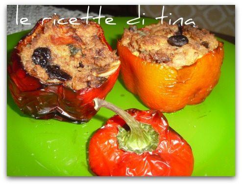 Peperoni imbottiti al forno