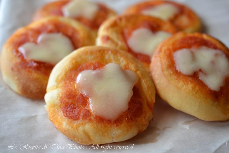 Amato Pizzette da buffet,ricetta per feste di bambini LR97