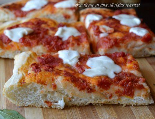 PIZZA AL TAGLIO SOFFICE