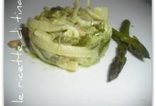 Scialatielli asparagi e gamberetti