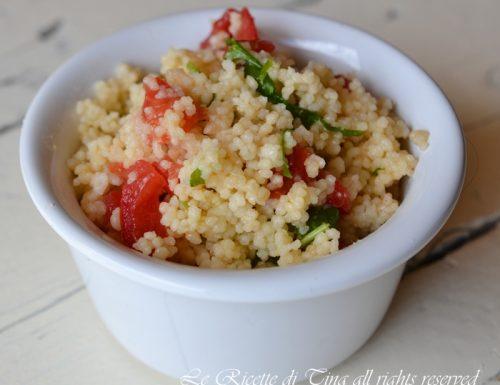 Couscous rucola e pomodorini