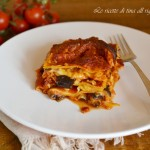 Lasagne melanzane e scamorza