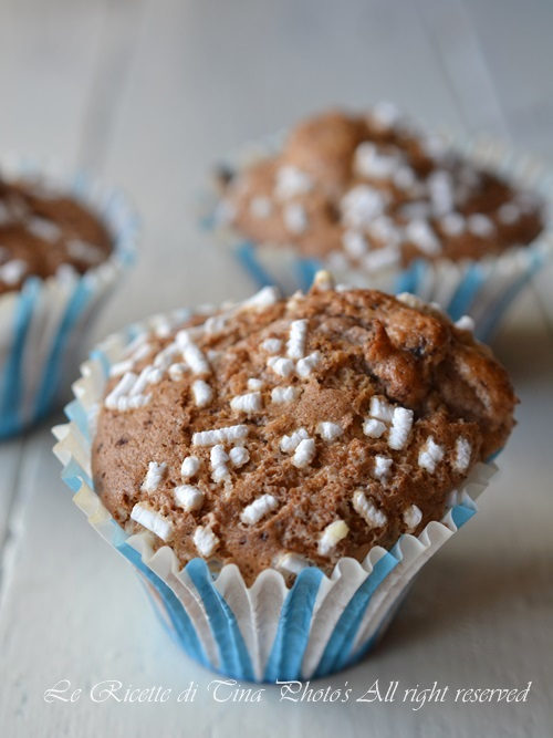 muffin con farina di castagne,muffin,muffin dolci,muffin con castagne,castagne,le ricette di tina,