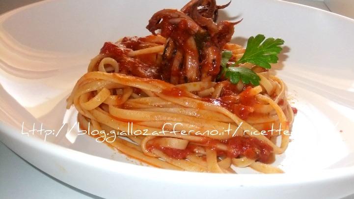 Pasta con moscardini for Cucinare moscardini