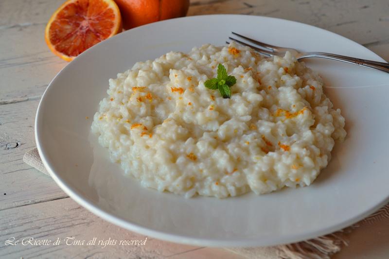 risotto,risotto all arancia,risotto facile,le ricette di tina,