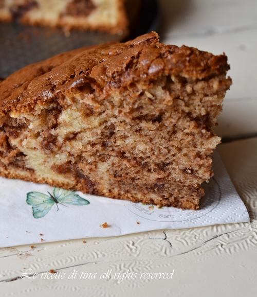 torta ricotta e cioccolato,torta con ricotta,torta al cioccolato,torta senza burro,le ricette di tina,