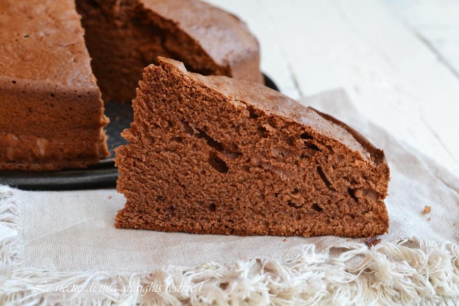 torta cioccolato e amaretti,torta amaretti,torta cioccolato,le ricette di tina