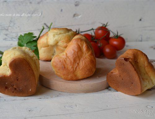Muffin salati a cuore