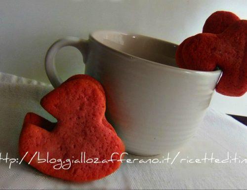 Biscotti rossi per S Valentino