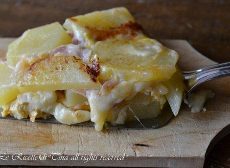 Tortino patate al forno