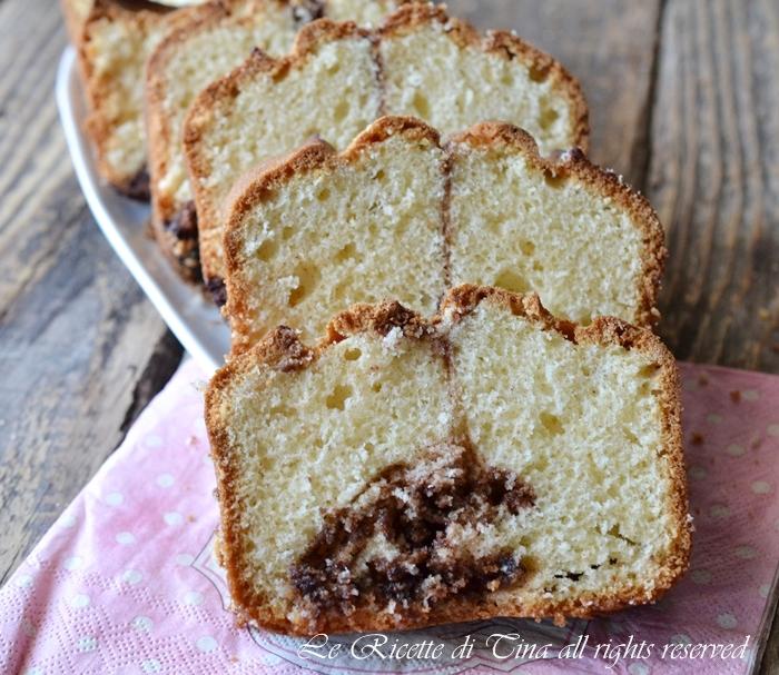 plumcake con nutella,ricette con nutella,le ricette di tina,