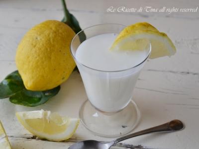 sorbetto,sorbetto al limone,sorbetto senza albumi,le ricette di tina
