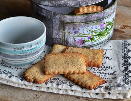 Biscotti integrali all olio