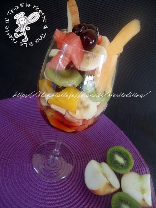 Cucina regionale campana,Macedonia di frutta