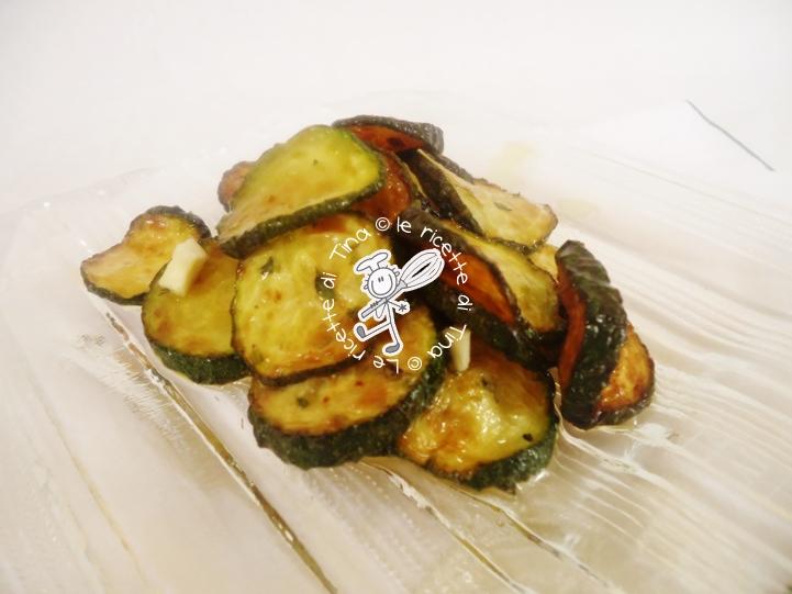 Cucina regionale campana,Zucchine a scapece