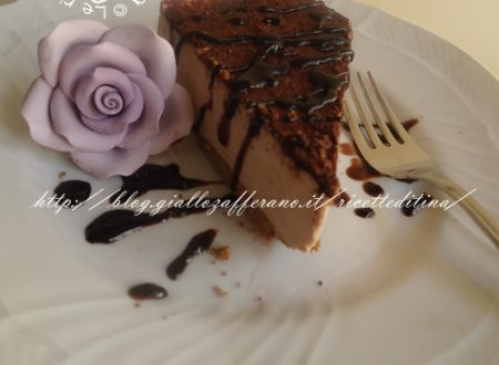 Cheesecake al cioccolato semplicissimo