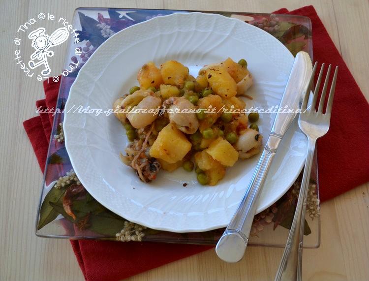 seppioline con le patate