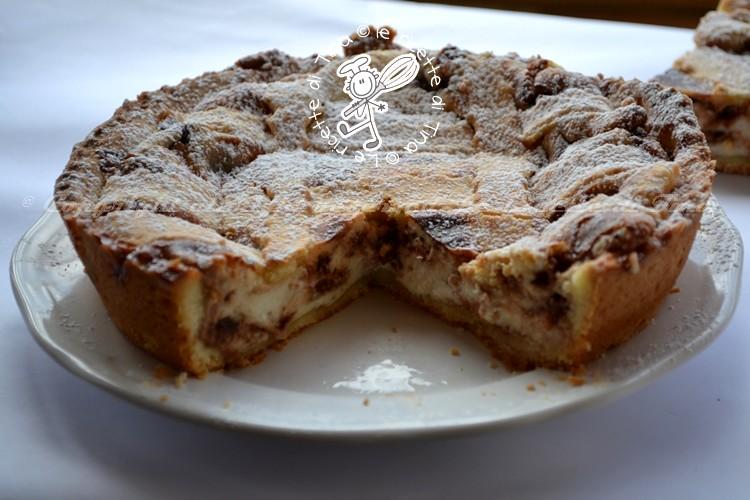 crostata con ricotta e cioccolato le ricette di tina