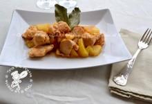 Spezzatino di pollo con le patate