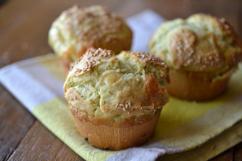muffin-con zucchine,muffin salati,le ricette di tina