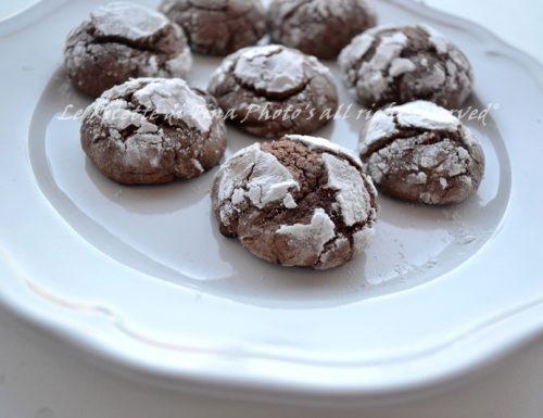 Biscotti nutella e cioccolato