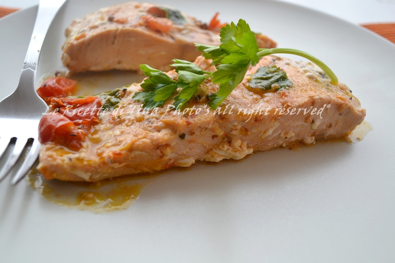Salmone fresco in padella for Cucinare salmone