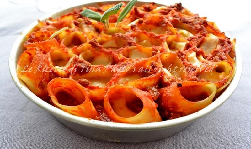 Raccolta ricette primi piatti al forno for Ricette primi piatti pasta