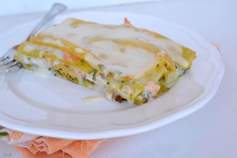 lasagne bianche lasagne, lasagne con zucchine