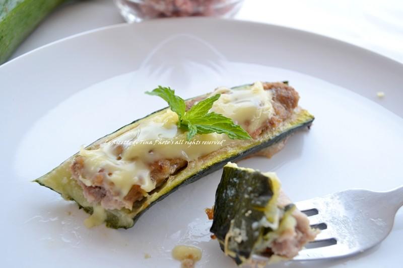 ricette con le zucchine zucchine ripiene di carne zucchine al forno