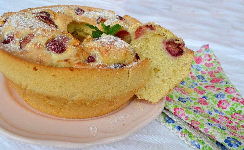 ricette con ciliegie,ciliegie,torta con ciliegie,