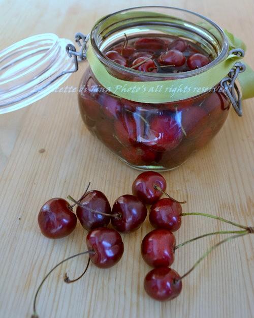conserva di ciliegie