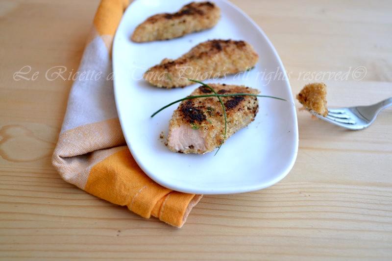 salmone impanato,salmone in padella,salmone fresco,salmone
