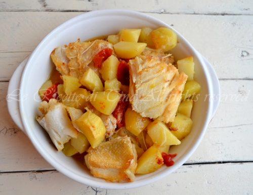 Stoccafisso con patate al forno