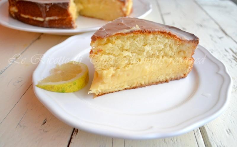 torta con crema,torta al limone,torta per compleanno,torta farcita