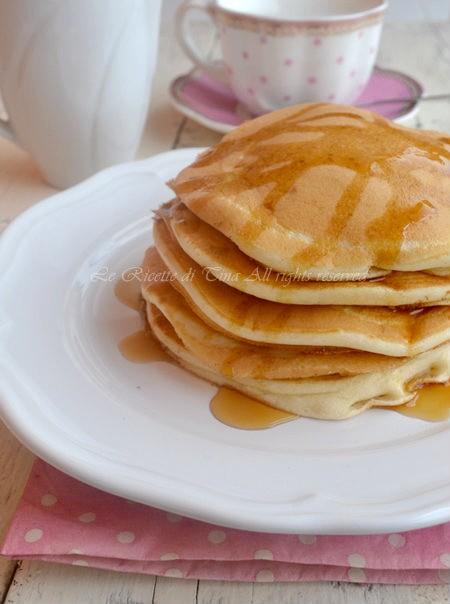 Ricetta pancake dolci veloce