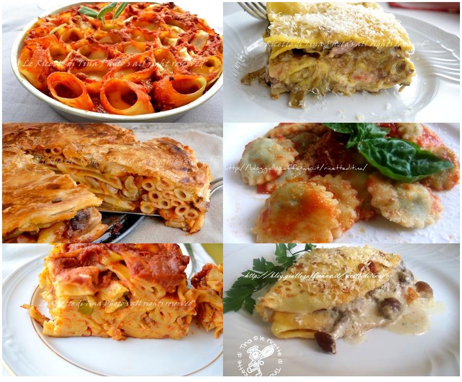 le ricette di tina,lasagne,ravioli,timballo,tagliatelle al forno,crespelle,pdf,