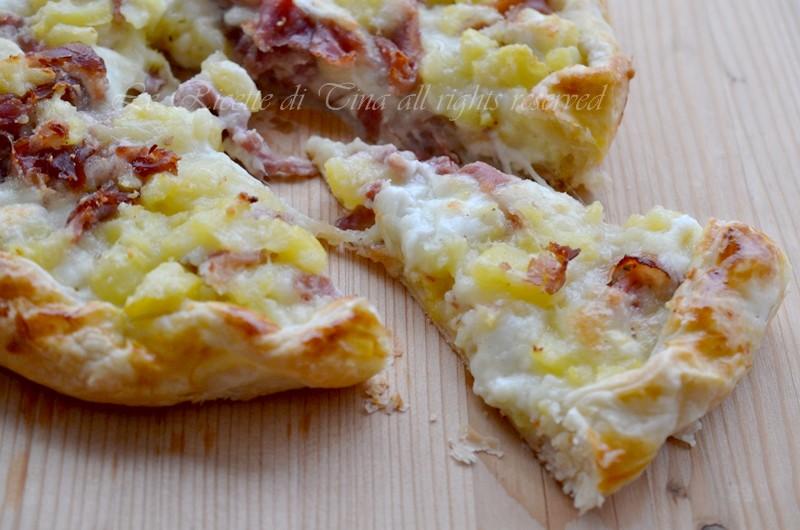 Ricetta pasta sfoglia speck e formaggio