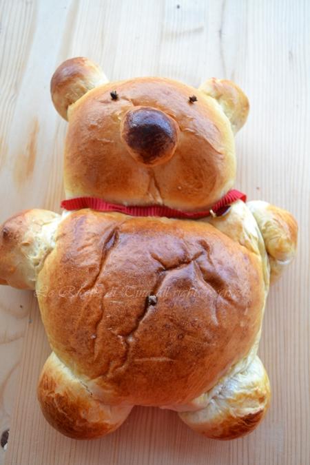 orsacchiotto,pan brioche soffice,orsacchiotto di pan brioche soffice,ricette per la colazione,dolci per bambini,ricette per bambini,le ricette di tina,
