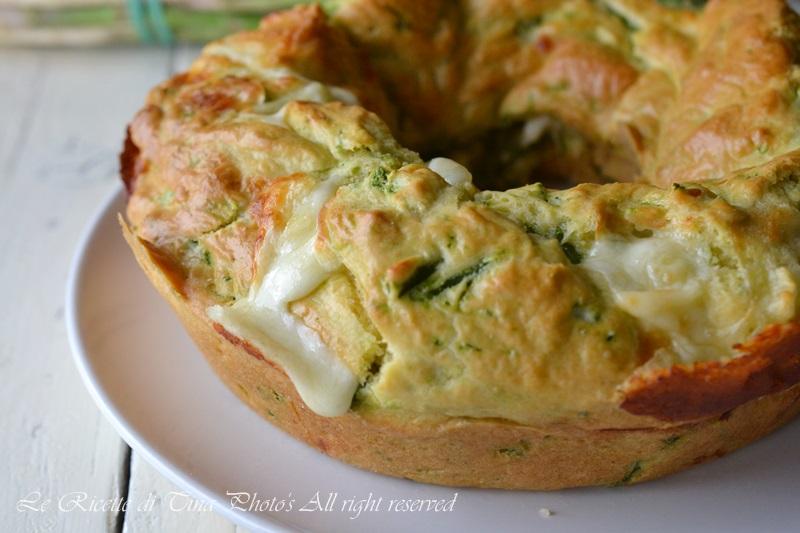 Torta salata girasole con cicoria e ricotta | Le ricette ...