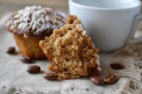 muffin al caffè con yogurt,muffin,dolci al caffè,dolci veloci,dolci soffici,dolci per colazione,le ricette di tina,