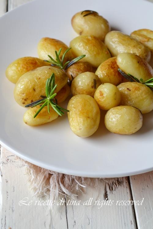 patate novelle,patate in padella,patate croccanti,le ricette di tina,