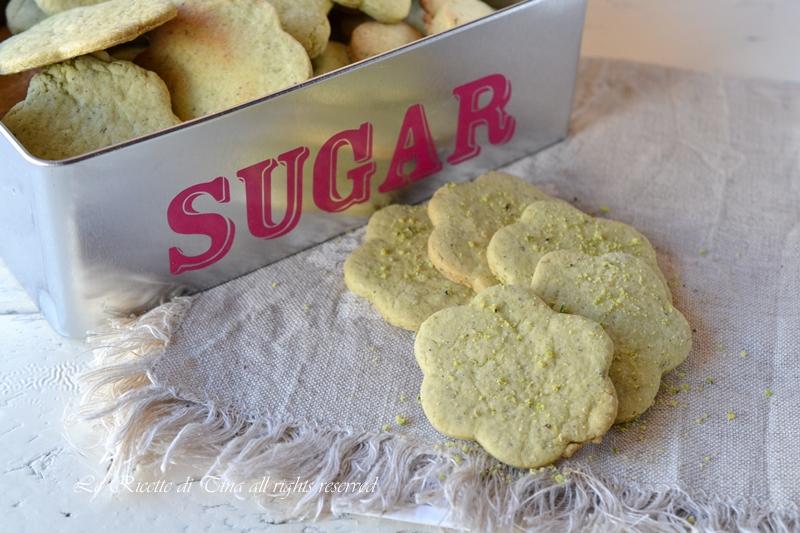 biscotti ai pistacchi,biscotti con pistacchi,le ricette di tina